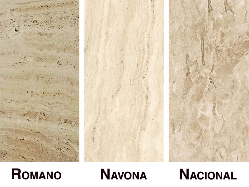 Tipos de mármore travertino - PR Grupo Paraná
