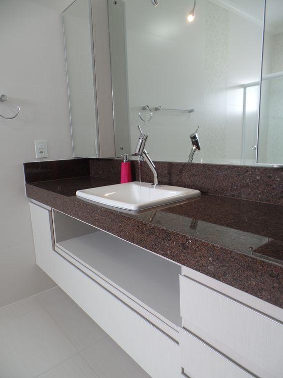 Projeto em banheiro com Café Imperial