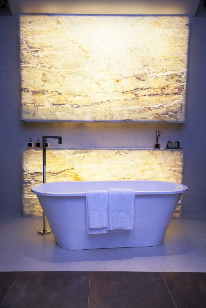 Tecnologia Pietra Fina em banheiro