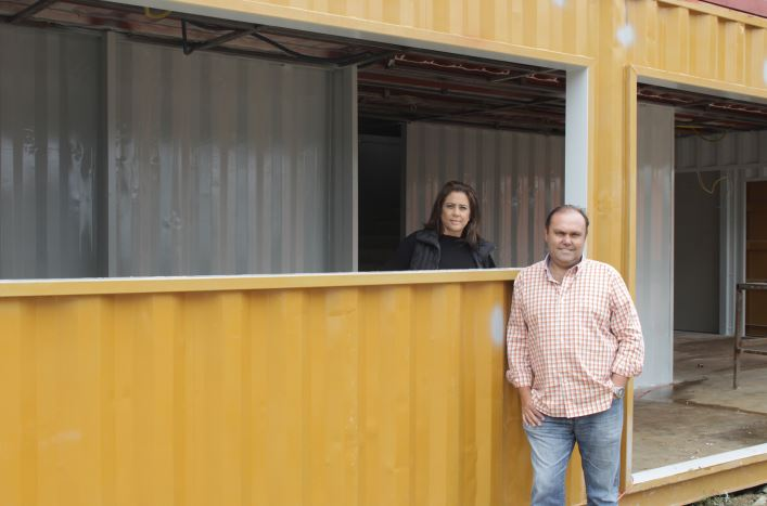 Casal de empresarios Perci e Eloisa Hultmann - Total Storage Boulevard