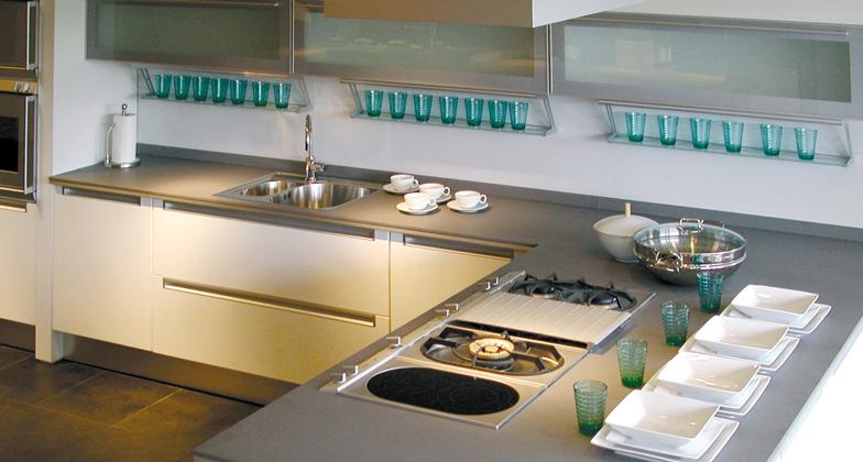 Concrete caesarstone - Bancada cozinha