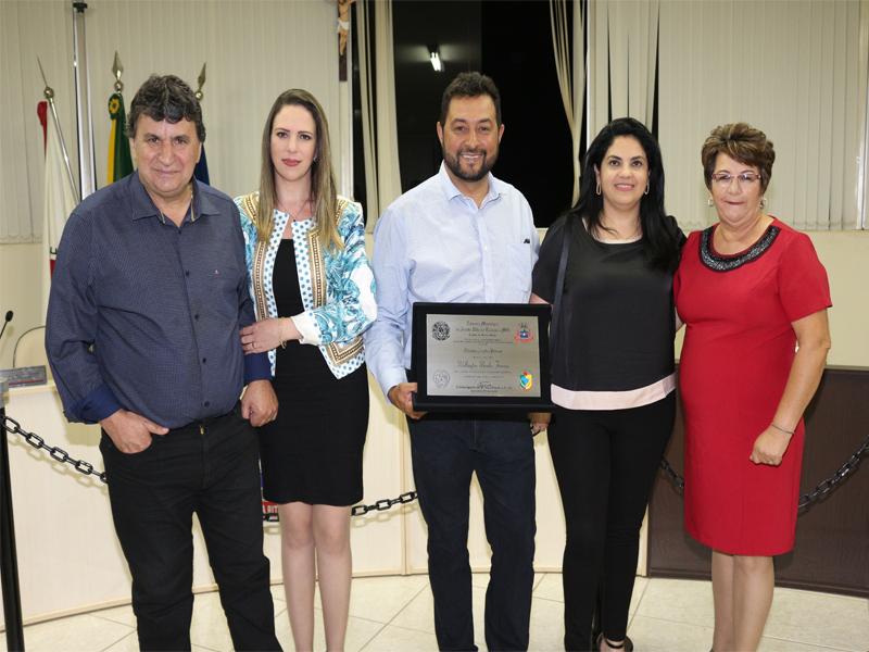 Diretor da Mineração Café recebe título Cidadão Santa-Ritense