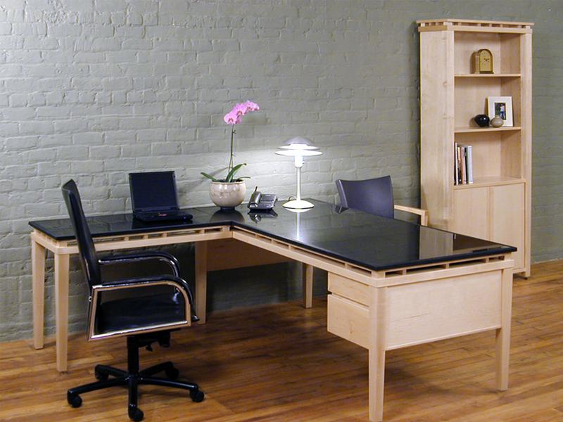 Revestimento de granito - Home Office