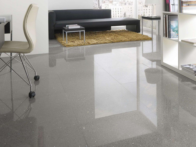 Superfície de quartzo Antic - Revestimento de piso
