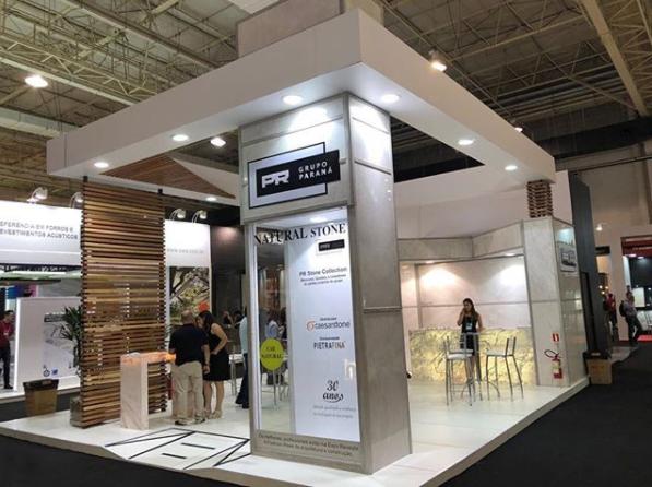 Stand PR Grupo Parana - Expo Revestir 2018