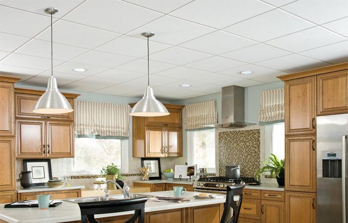 Design de cozinha - Teto