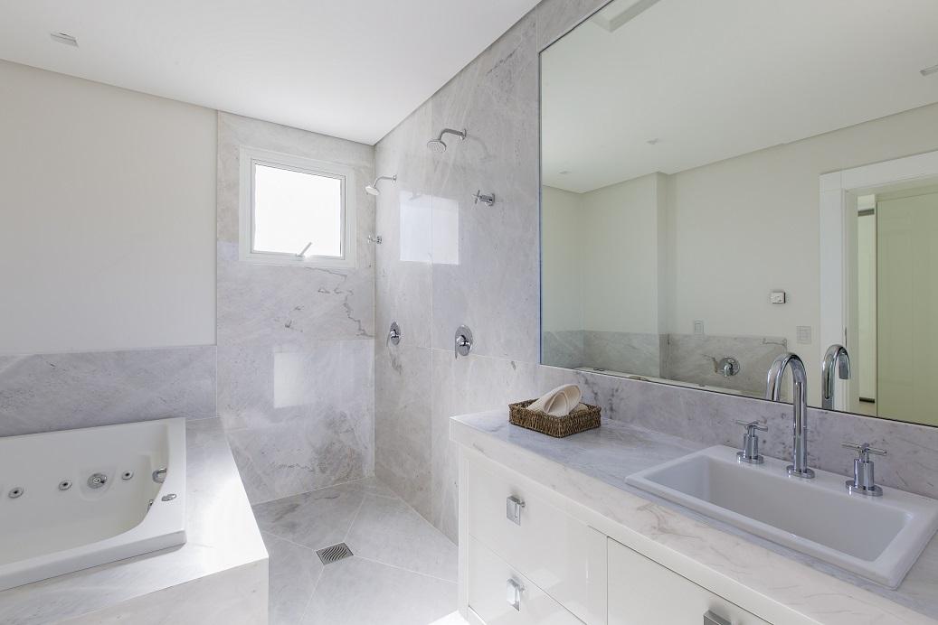 Mármore Branco Paraná Clássico - Banheiro
