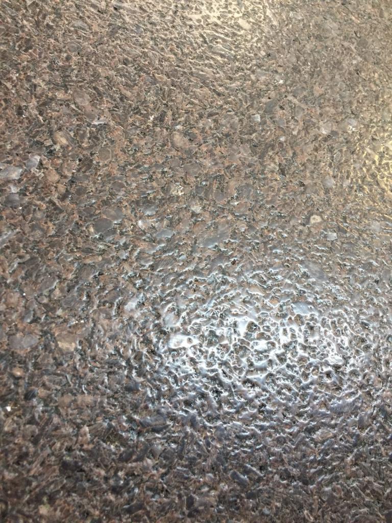 chapas de granito escovado
