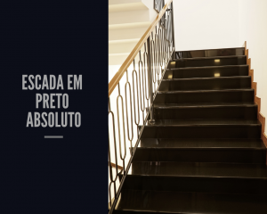 escada preto absoluto