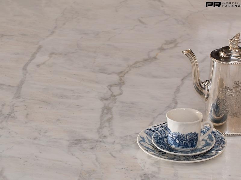 mármore perlato chapa